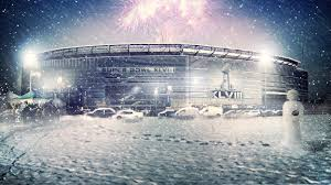 snow at the super bowl